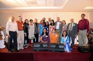 Sanjeevani with Ekal Vidyalaya Officers and volunteers.