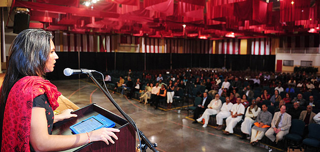 Congresswoman Tulsi Gabbard Keynotes USHA Tribute to Swami Vivekananda