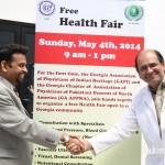 GAPI President Dr Indrakrishnan & GA-APPNA president  Dr Taufiq