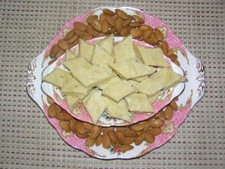 Almond Barfi & Cashew Brittle