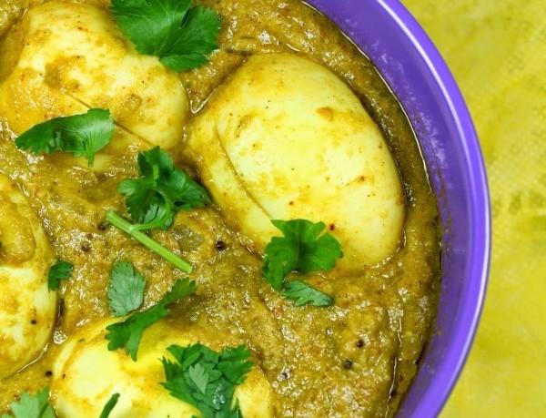 Boiled Egg Masala Curry