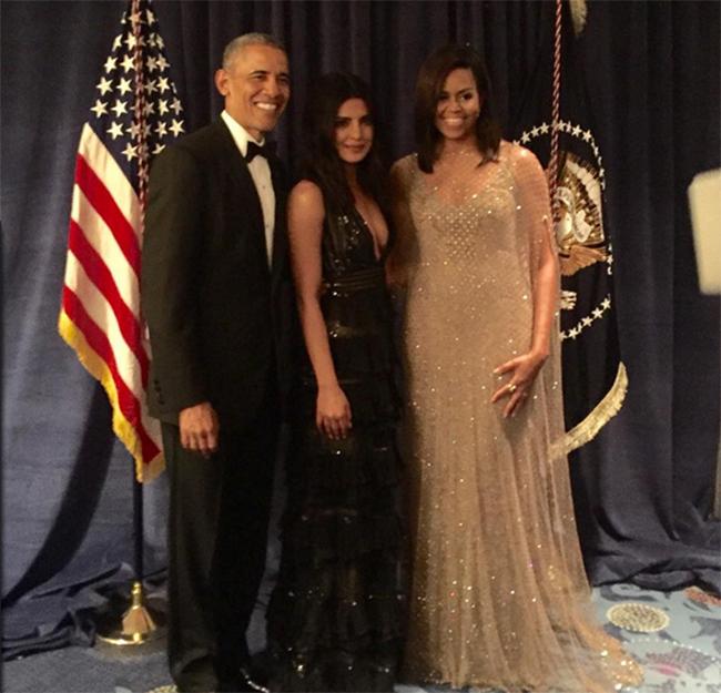Lovely to meet funny, charming Barack Obama: Priyanka
