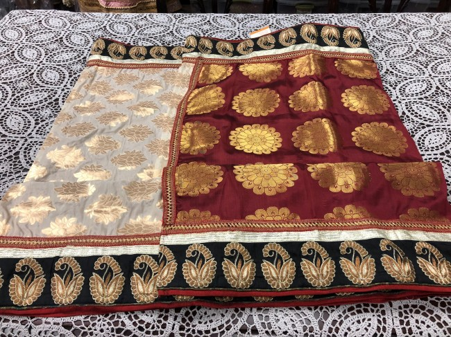 Transform vintage saris into trendy new creations