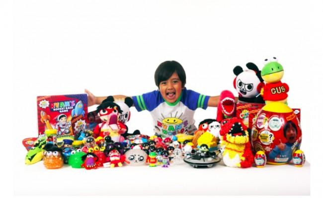 Ryan's World: Six-year-old multi-millionaire teams up with Walmart